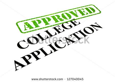 Writing college essay application